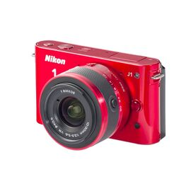 Nikon 1 J1 Two-Lens Wide Angle Kit  Red-oisia-shopping-India