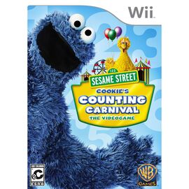Sesame Street:Cookie's Counting Carnival (Wii)-oisia-shopping-India