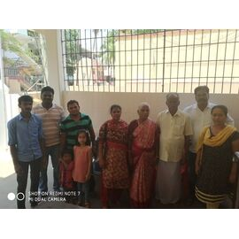 The food donation is given on 27/04/2019 by Naina mohamed college B.sc cs 2003 batch and Singai Udhavum Karangal friends.