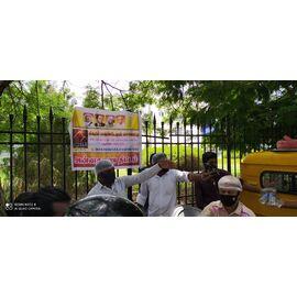 இன்று 09/07/2020 நமது சிகரம் பவுண்டேஷன் சொசைட்டி அன்னதான திட்டத்தின் கீழ் புதுச்சேரி ராஜிவ்காந்தி பென்கள் மற்றும் குழந்தைகள் மருத்துவமனையில் உள்ள ஆதரவற்ற மற்றும் ஏழ்மையானவர்கள் 150க்கும் மேற்பட்ட பயனாளிகளுக்கு அறந்தாங்கியில் அமைந்துள்ள நைனா முஹம்மது கல்லூரி முன்னாள் B.sc கம்ப்யூட்டர் சயின்ஸ் மாணவ- மாணவிகள்மற்றும் சிங்கப்பூரில் அமைந்திருக்கும் சிங்கை உதவும் கரங்கள் நண்பர்கள் இணைந்து இன்று மதிய உணவு சேவையை அளித்து இருக்கிறார்கள். அவர்களுக்கும், அவர்களுடைய குடும்பங்களுக்கும் வாழ்த்துக்களையும். தொண்டுநிறுவனத்தின் சார்பில் நன்றியையும்தெரிவித்துக்கொள்கிறோம். மேலும் தாங்களும் உணவு வழங்கி மகிழ்ந்திடதொடர்புக்கு
