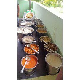 The food sponsored by Shanmuga Priya sister from Singai Udhavum Karangalfor her son's birthday!!
