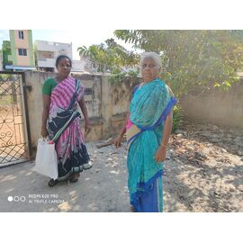 The groceries donation was given in Aranthanki on 18/04/2020 by Naina mohamed college B.sc cs 2003 batch and Singai Udhavum Karangal friends.