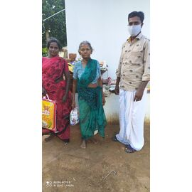 The groceries donation was given in Kattumavadi on 17/04/2020, 27/04/2020 and 10/07/2020 by Naina mohamed college B.sc cs 2003 batch and Singai Udhavum Karangal friends.