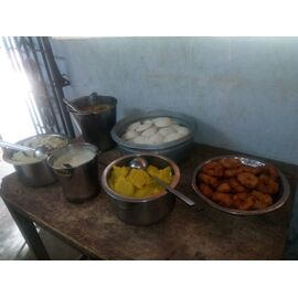 The food service is distributed in Ozone Trust, Aranthanki on 12/05/2020,13/04/2020, 28/07/2019 and 25/12/2019 by Naina mohamed college B.sc cs 2003 batch and Singai Udhavum Karangal friends.  One of the food services was donated by Praveen from Singai Udhavum Karangal for his birthday celebration.
