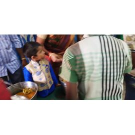 The food donation is given to Indian council for child well fare, Thanjovur on 17/03/2020byNaina mohamed college B.sc cs 2003 batch and Singai Udhavum Karangal friends.