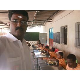 The food donation is given to Vallalar Kappaham, Aranthanki on different days on 24/02/2019, 26/05/2019, 30/07/2020 by Naina mohamed college B.sc cs 2003 batch and Singai Udhavum Karangal friends.  One of the food donations was contributed by Madhavan from Singai Udhavum Karangal for his daughter birthday celebration.